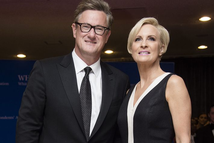 Joe Scarborough and Mika Brzezinski enjoyed a ratings boost courtesy of the  president's poor self-control. Photo: Getty Images