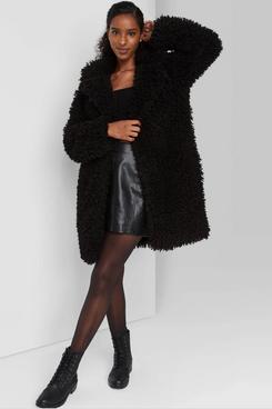 Wild Fable Women's Faux Fur Jacket