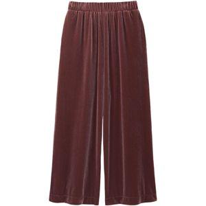 Velour Wide Pants