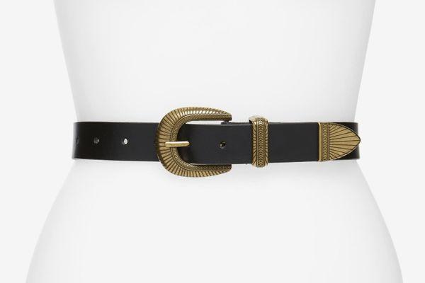 Treasure & Bond Western Jean Leather Belt