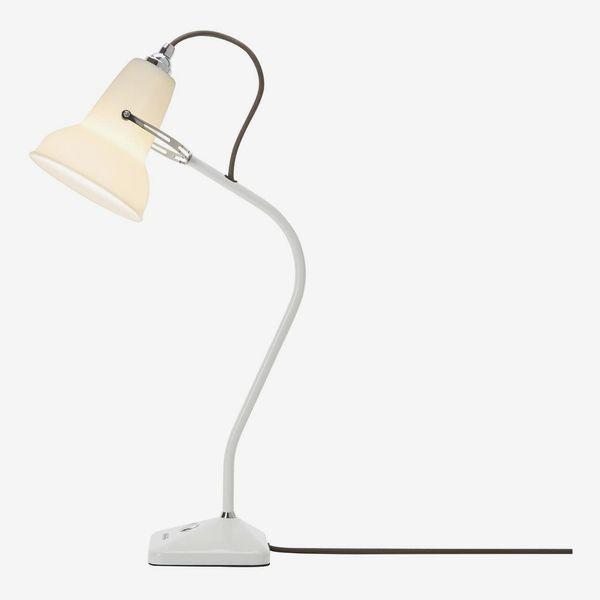 Anglepoise Original 1227 Mini Ceramic Table Lamp, Pure White