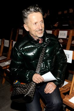 Simon Doonan attends the Boy And Girl By Band Of Outsider Fall 2012 fashion show