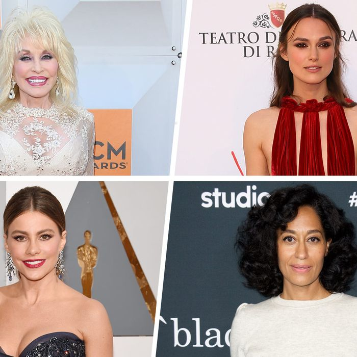 Reflections from Dolly Parton, Keira Knightley, Tracee Ellis Ross, Sofía Vergara, and more.