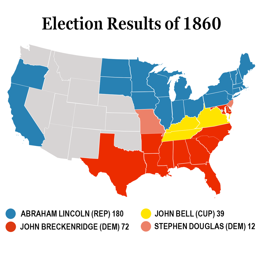 The Party Of Andrew Jackson Vs The Party Of Obama - Historical democratic vs republican us map
