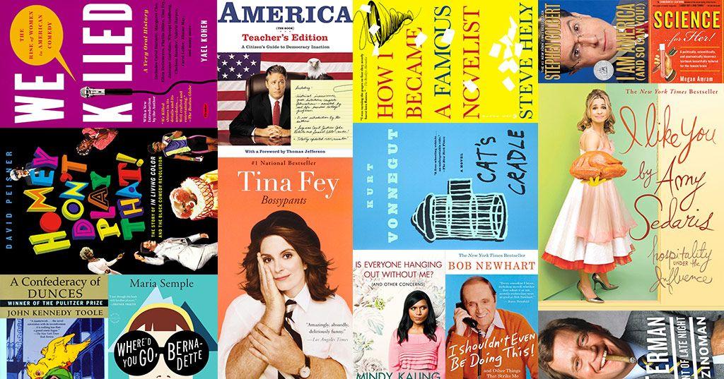 90 Books Every Comedy Fan Should Read