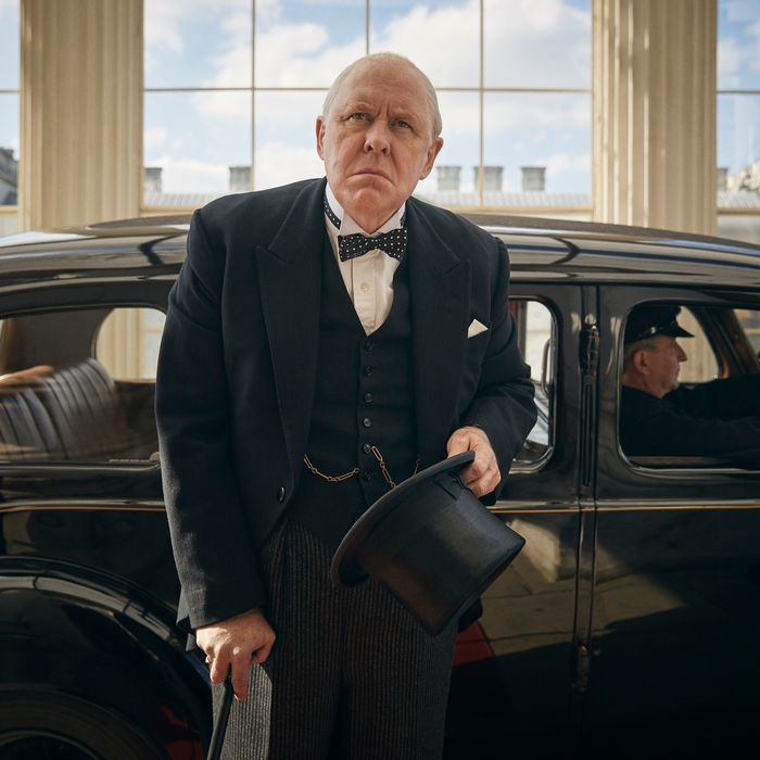 John Lithgow as Churchill.