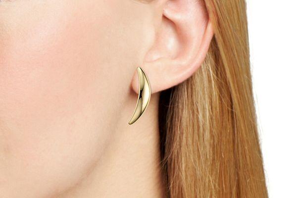 Robert Lee Morris Soho Curved Clip-On Earrings