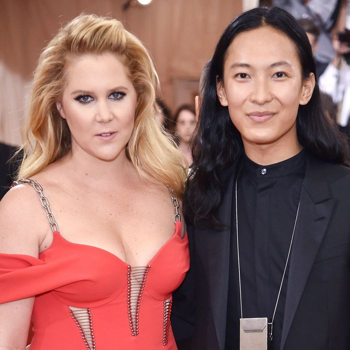Amy Schumer and Alexander Wang.