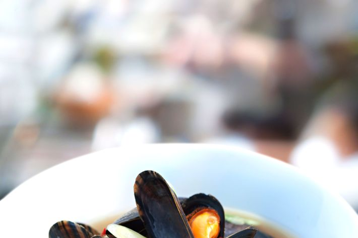 Mussels give you strength.