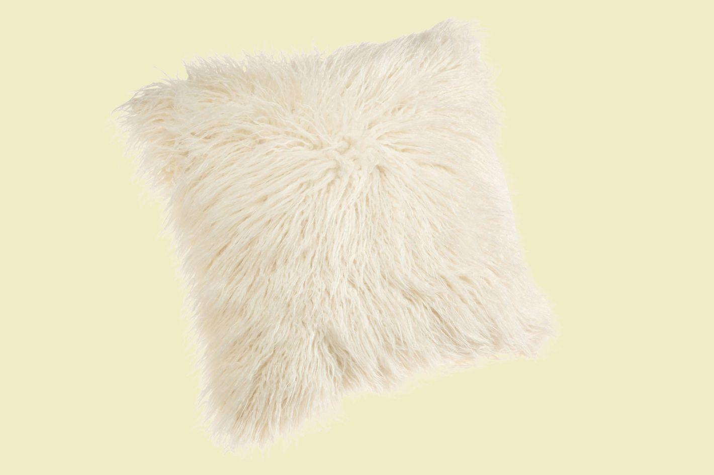 Dikoaina Mongolian Faux Fur Pillow Cover