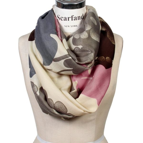Scarfand's Graphic-Print Infinity Scarf