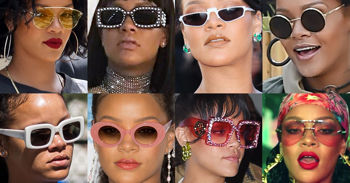 822bffeed66 Where to Buy Rihanna s Best Sunglasses