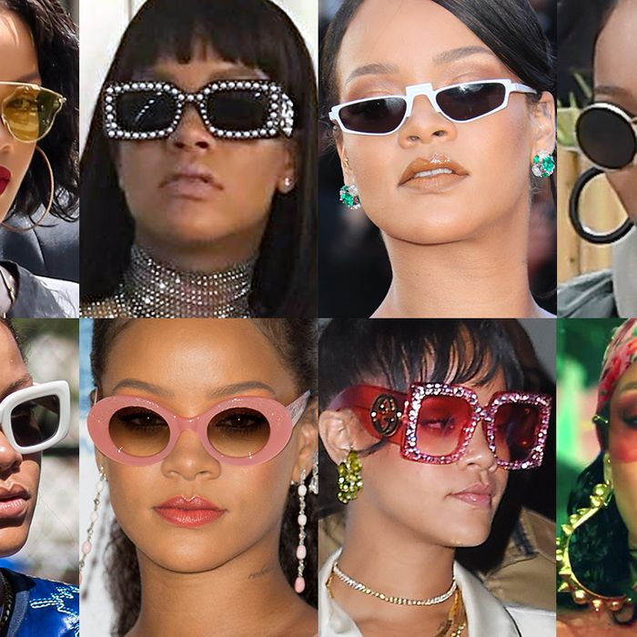 6a25472ba9ce Fact: Rihanna Has the Best Sunglasses in the Game