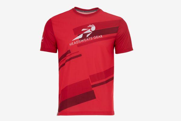 Headsweats Men's Short Sleeve Performance Tee Shirt