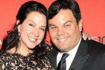 NEW YORK, NY - APRIL 29:  Kristen Anderson Lopez and Robert Lopez attend the TIME 100 Gala, TIME's 100 most influential people in the world at Jazz at Lincoln Center on April 29, 2014 in New York City.  (Photo by Kevin Mazur/Getty Images for TIME)