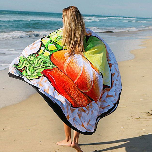 The Best Beach Towels Are Round