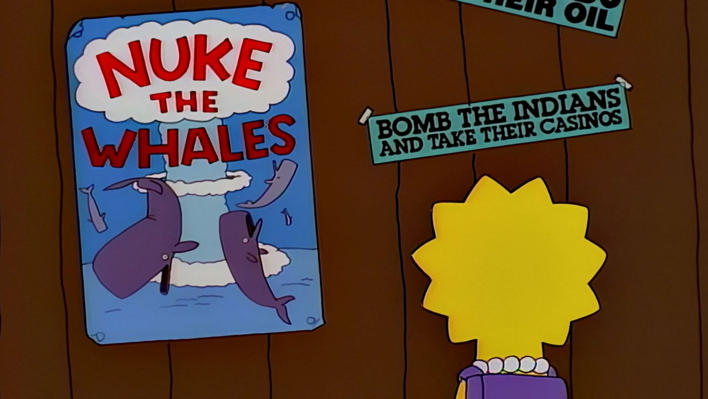 The Simpsons Jokes You Missed Due To Disney Aspect Ratio