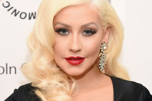 Drunk Christina Aguilera Almost Fell Into a Tree -- The Cut Jessica Chastain