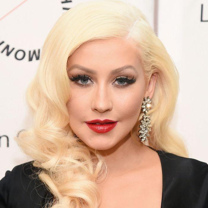 Idol Christina Aguilera.