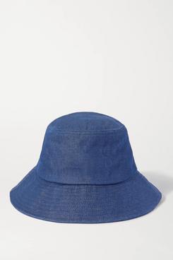 Loeffler Randall Ivy Denim Bucket Hat