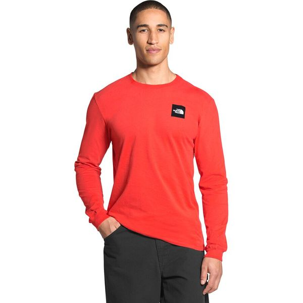 The North Face Red Box Long-Sleeve T-Shirt