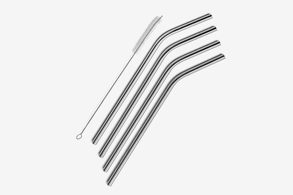 SipWell Stainless-Steel Drinking Straws