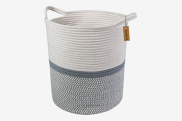 Goodpick Large Cotton Rope Basket