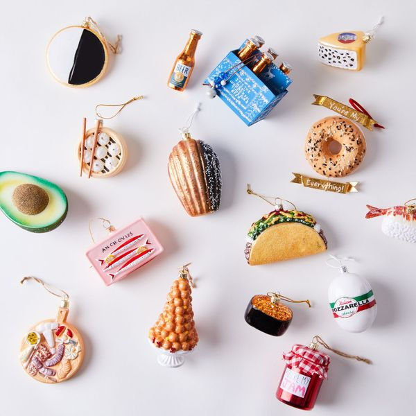 Cody Foster Vintage-Inspired Food Ornaments