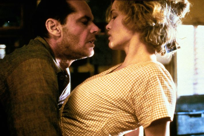 Jack Nicholson and Jessica Lange in The Postman Always Rings Twice. Photo:  Photos 12 / Alamy Stock Photo
