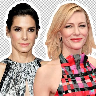 Sandra Bullock; Cate Blanchett