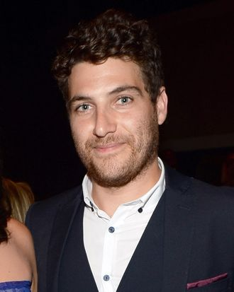 Actors Casey Wilson and Adam Pally attend Broadcast Television Journalists Association's third annual Critics' Choice Television Awards at The Beverly Hilton Hotel on June 10, 2013 in Los Angeles, California.