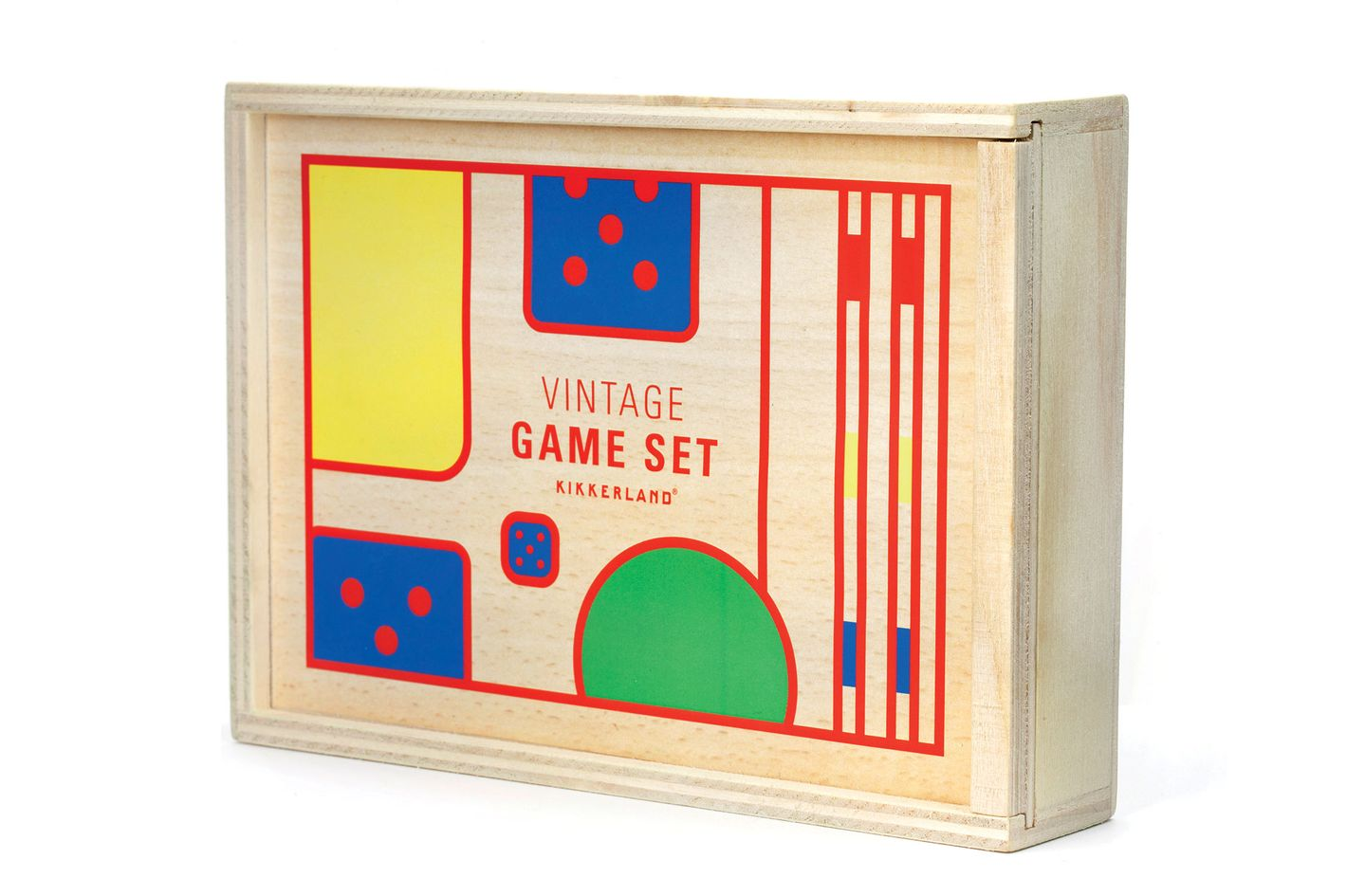 Wooden Boxed Vintage Inspired Game Set