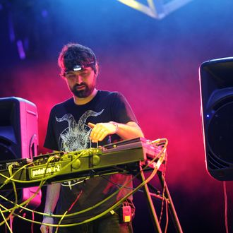 INDIO, CA - APRIL 16: Musical group Animal Collective performs during Day 2 of the Coachella Valley Music & Arts Festival 2011 held at the Empire Polo Club on April 16, 2011 in Indio, California. (Photo by Kevin Winter/Getty Images)