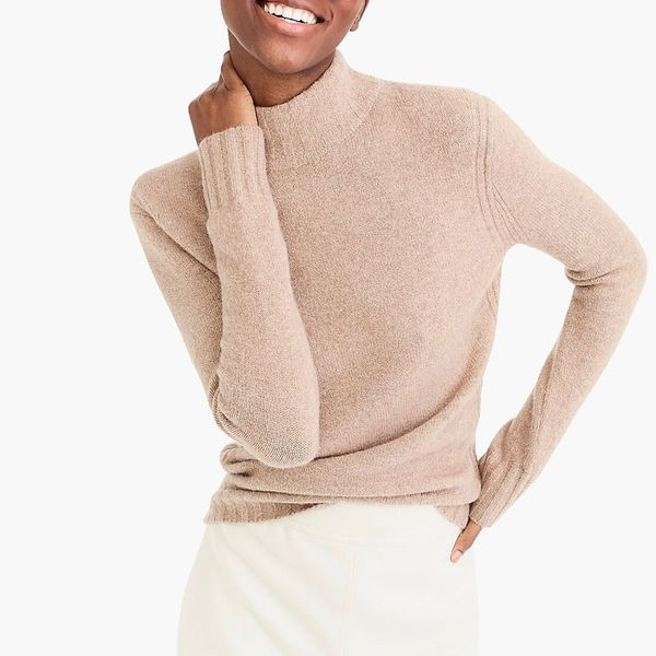 J. Crew Mockneck Sweater