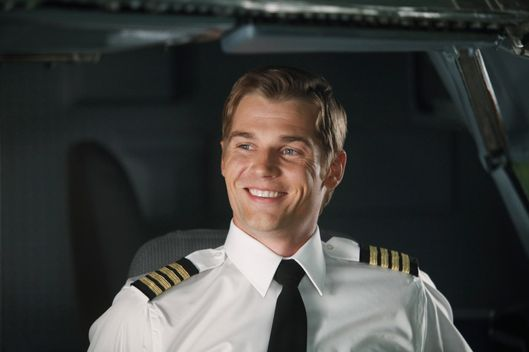 "PAN AM - ""Pilot"" - In the premiere episode, ""Pilot,"" Dean takes on his first assignment since his promotion, piloting the Clipper Majestic on its inaugural New York to London flight. Bridget is supposed to be his lead stewardess, until she's a no-show for the flight. Grounded purser Maggie is called in to fill in for her. On the same fateful flight, Kate adds another dimension to her work as she takes on her first assignment from U.S. intelligence. Her stress is compounded when she discovers that newly minted stewardess, Laura, her sister, is also working the same flight in the highly anticipated new series, ""Pan Am,"" premiering SUNDAY, SEPTEMBER 25 (10:01-11:00 p.m., ET), on the ABC Television Network. (ABC/ERIC LIEBOWITZ) MIKE VOGEL"