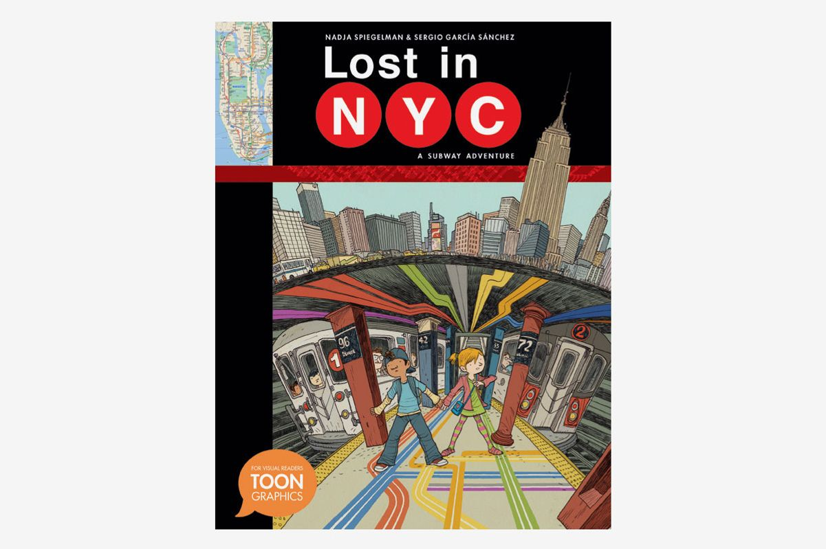 <em>Lost in NYC: A Subway Adventure </em>by Nadja Spiegelman and Sergio García Sánchez