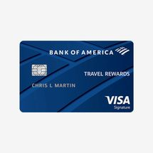 Bank of America Travel Rewards Card