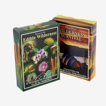 Sea to Sky Edible Wilderness and Wilderness Survival Playing Cards