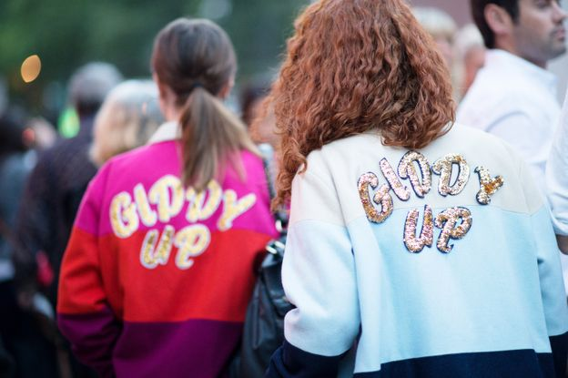 Photo 19 from No. 6 — These Ladies Wearing 'Giddy Up' Jackets