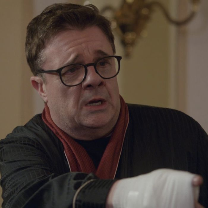 Nathan Lane as himself.