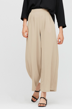 Uniqlo Crepe Jersey Wide Pants