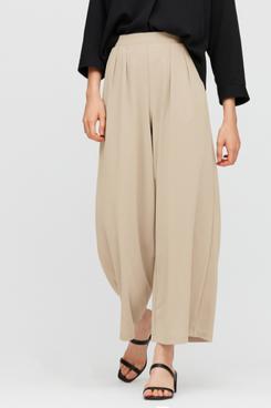 Uniqlo Crepe Jersey Wide Pants