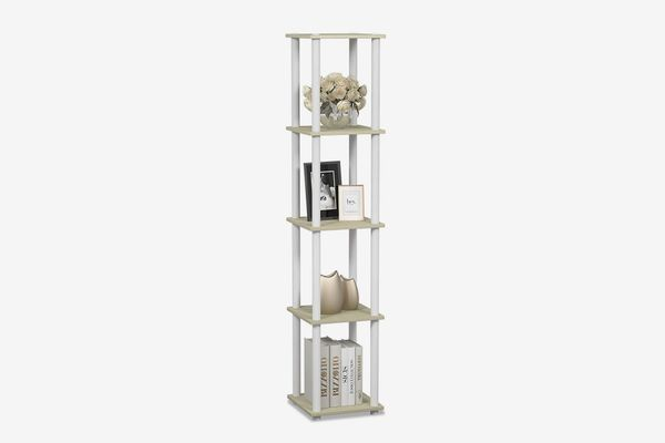 Furinno Turn-N Corner Square Display Multipurpose Rack