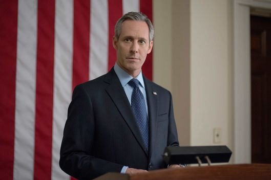"Michel Gill in season 2 of Netflix's ""House of Cards."" Photo credit: Nathaniel Bell for Netflix."