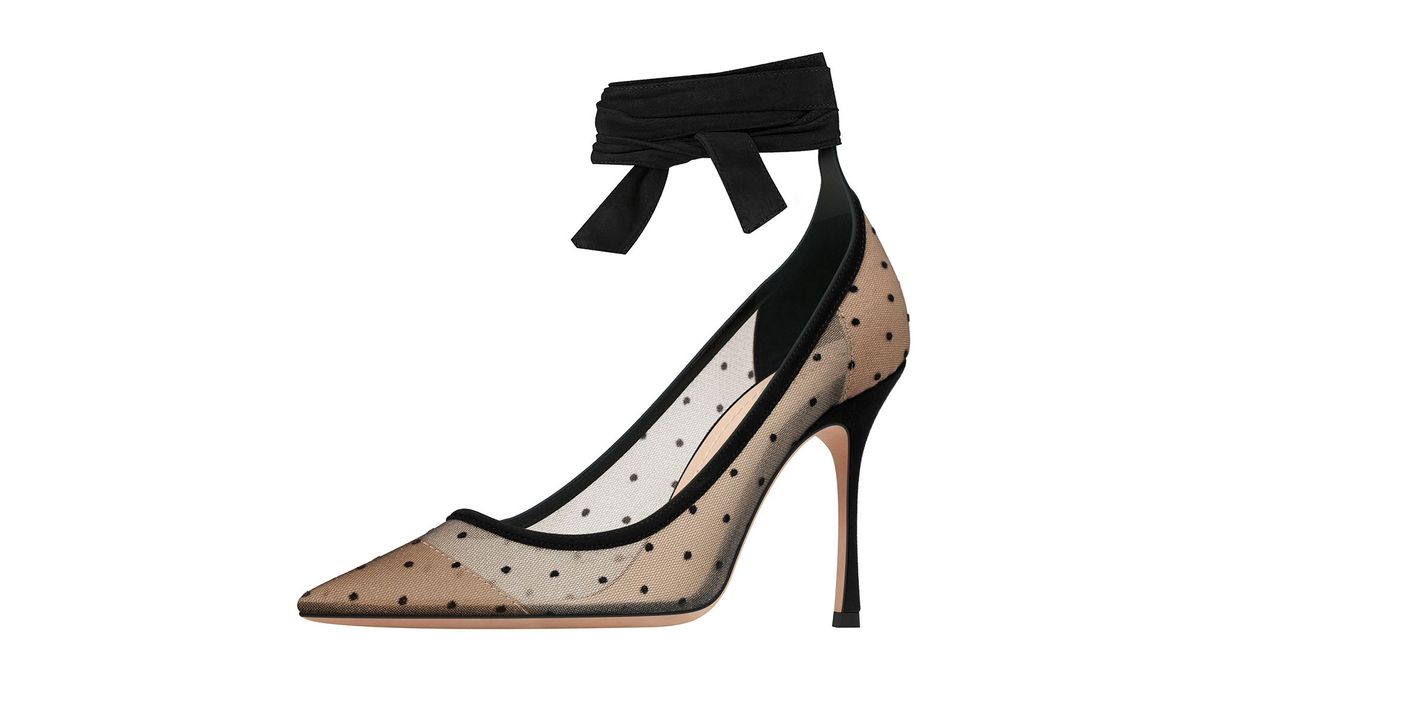 Dior Ankle-Wrap Pump