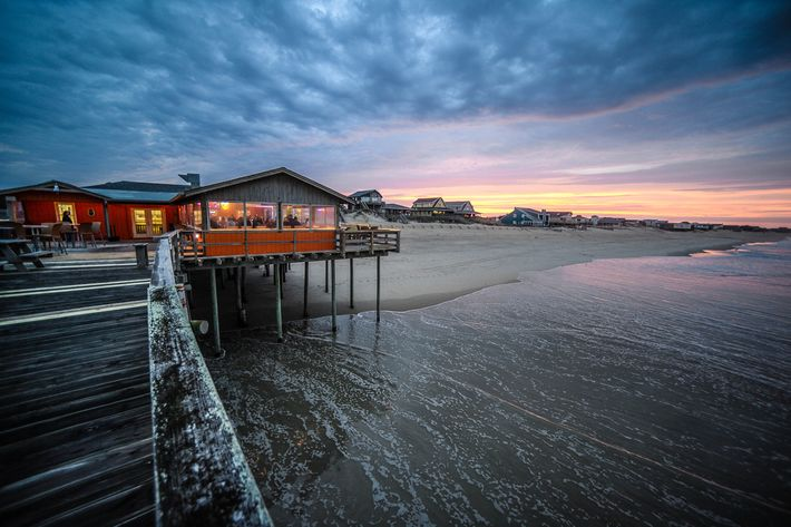 An outer banks beach vacation has something for everyone for Outer banks fishing