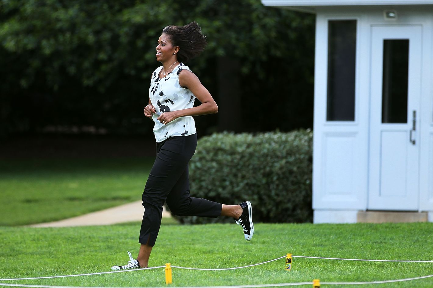 Watch Michelle Obamas Workout Instagrams Are the Summer Fitspiration You Need video