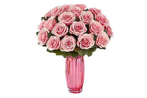 Pink Petal Roses for Mom