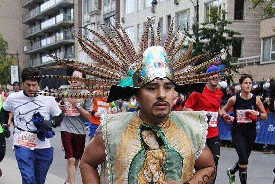 The Best Dressed Of The New York City Marathon Nymag