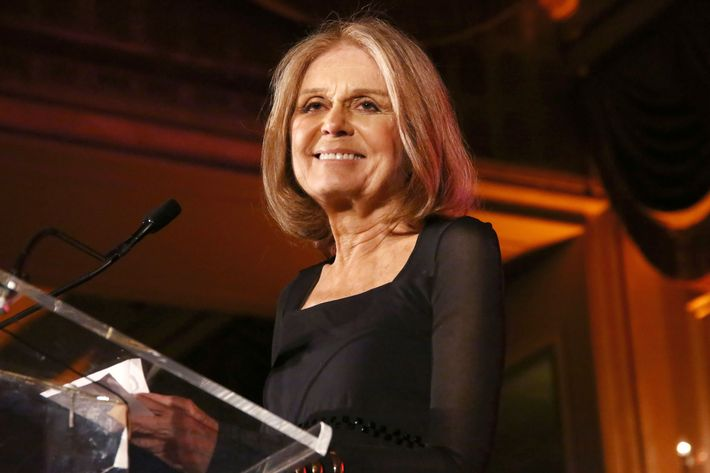 Gloria Steinem at the Gloria Awards.